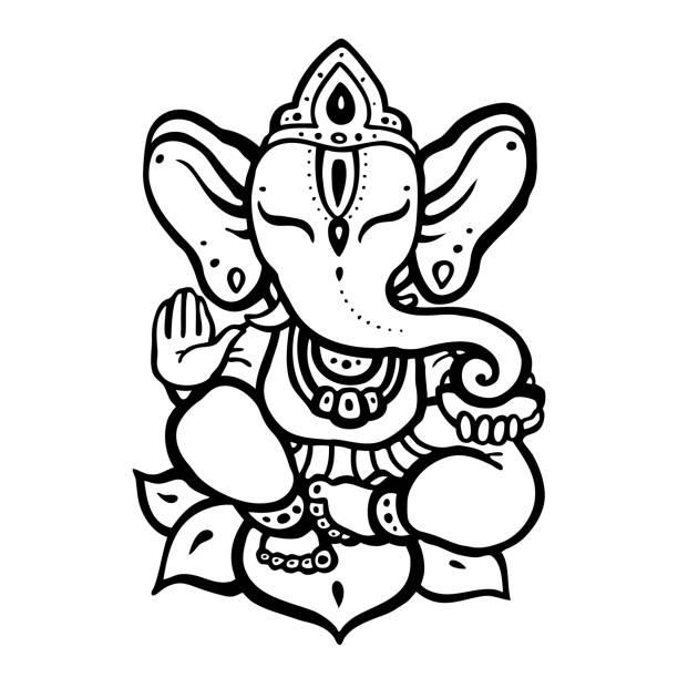 Best Ganesh Illustrations, Royalty.