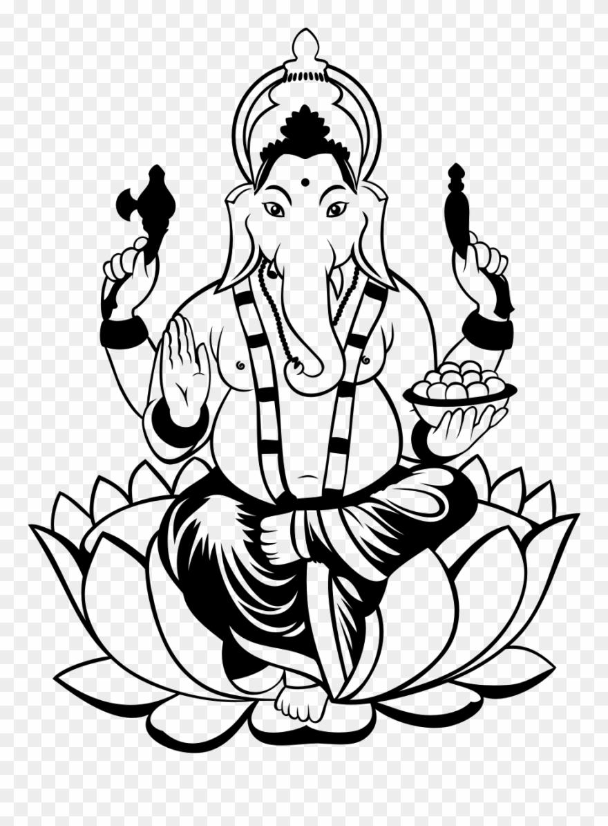 Ganesha Drawing Clip.
