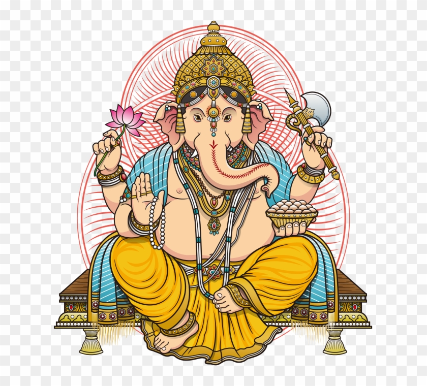 Lord Ganesh Png Picture.