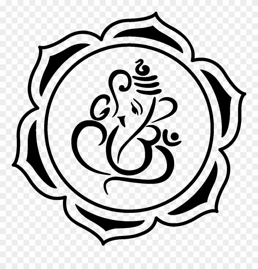 Ganesha Lotus Drawing Www Pixshark Com Images Free.