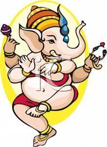 Ganesh Clip Art.