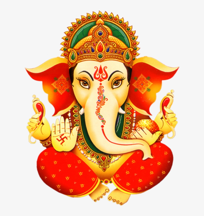 Lord Ganesh Png Picture With Transparent Clipart.