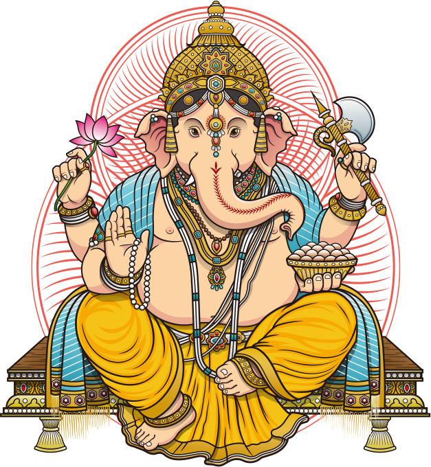 Ganesh PNG Transparent Images, Pictures, Photos.