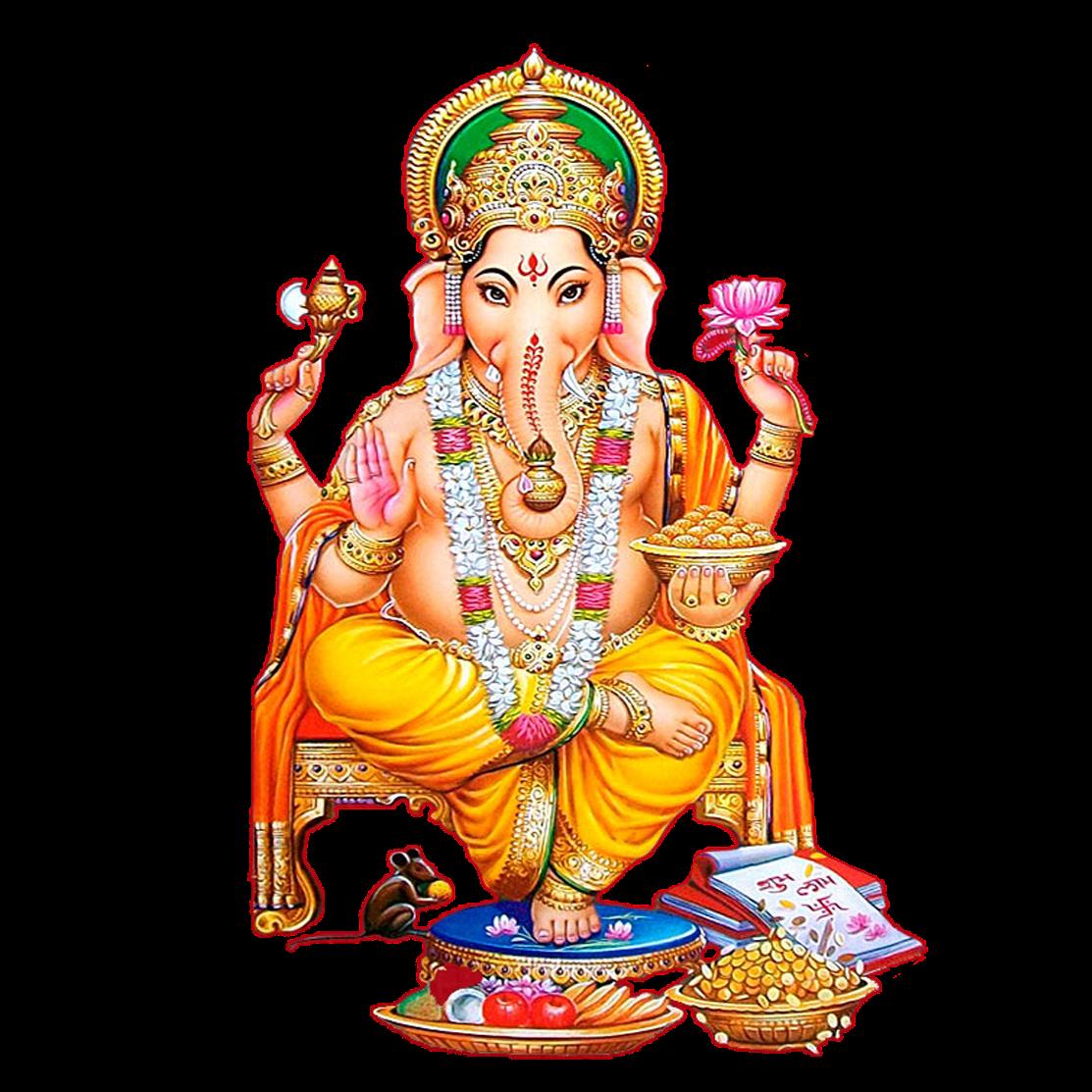 Lord Ganesha Clipart Png (+).
