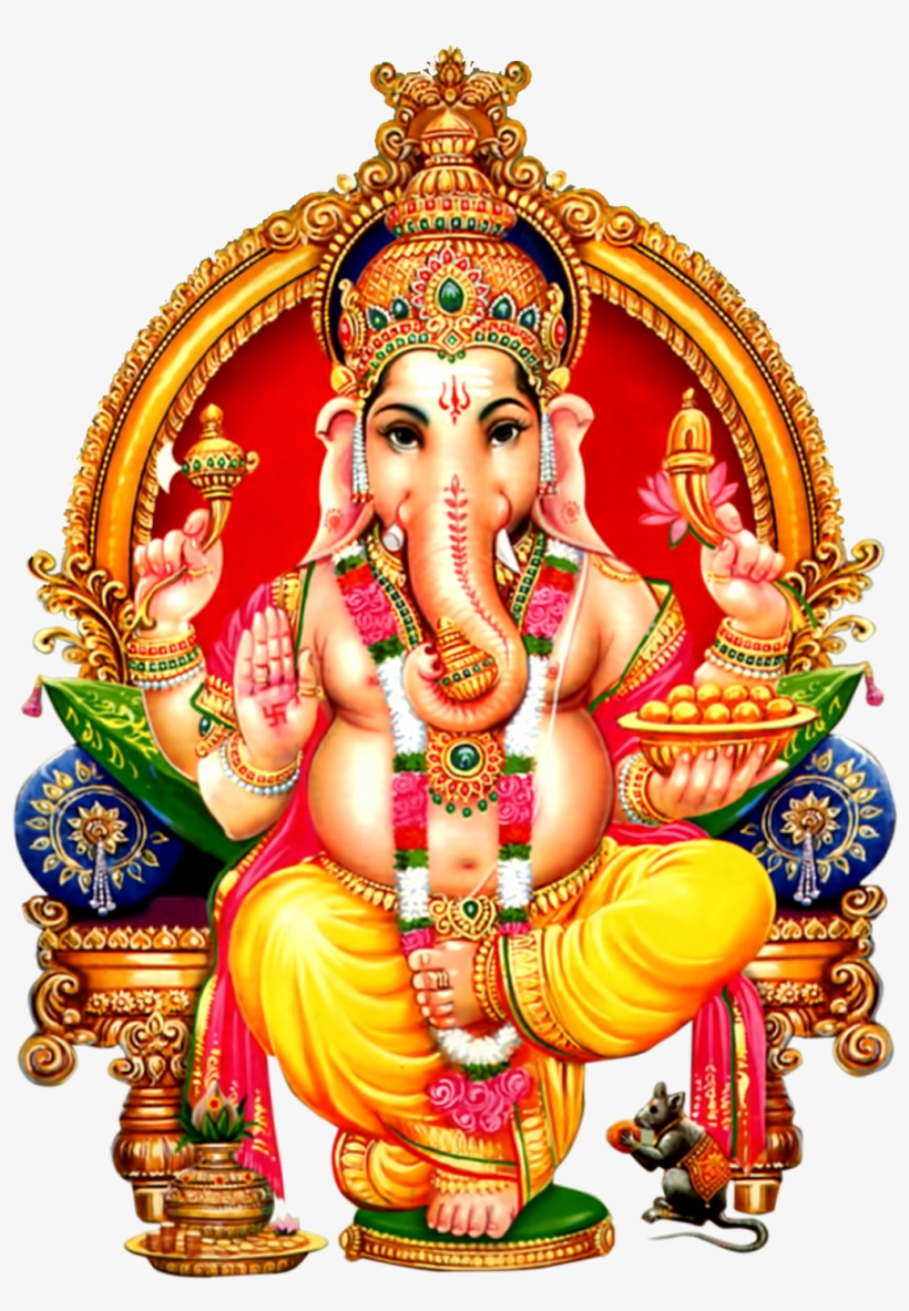 Lord Ganesha Clipart Png Download.