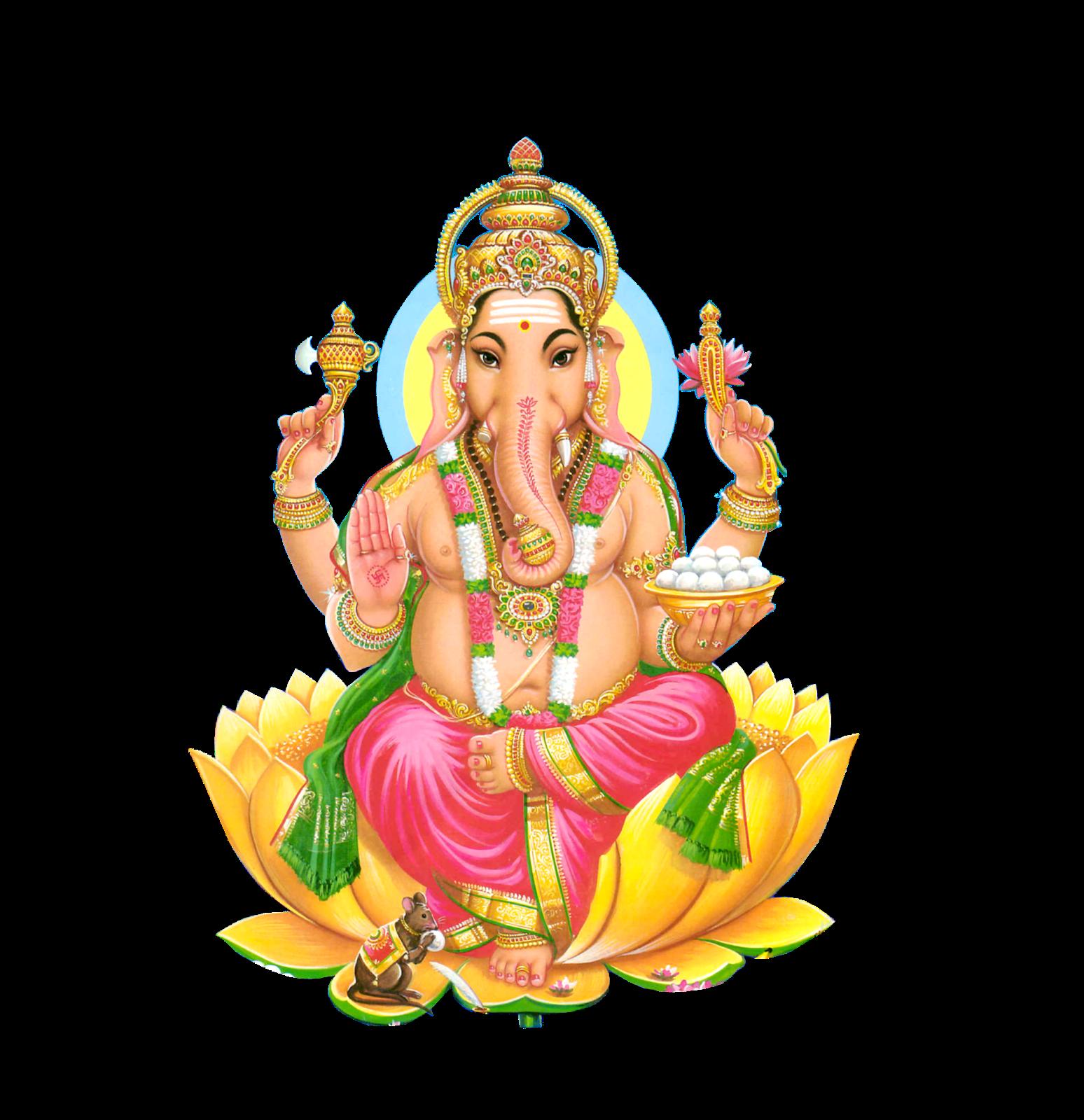 Ganesh Chaturthi PNG Image File.