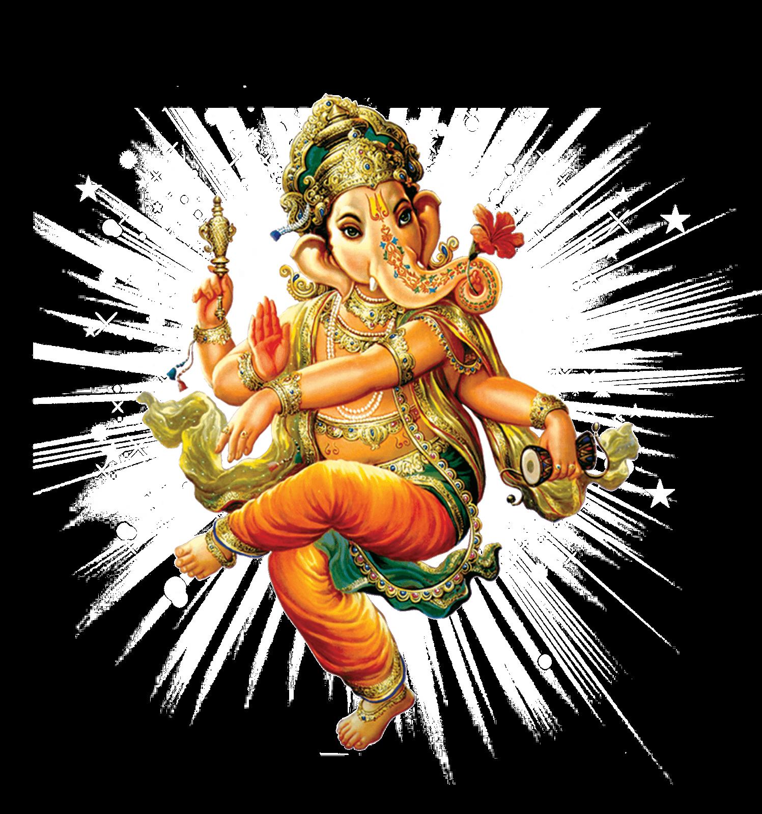 Sri Ganesh Solo transparent PNG.