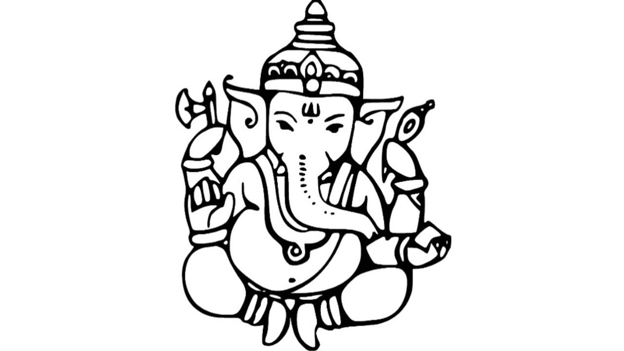 Sketch Picture Ganesha How To Draw Bal Ganesha Sketch.