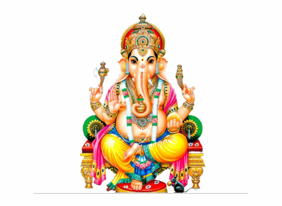 God Ganesh Png.