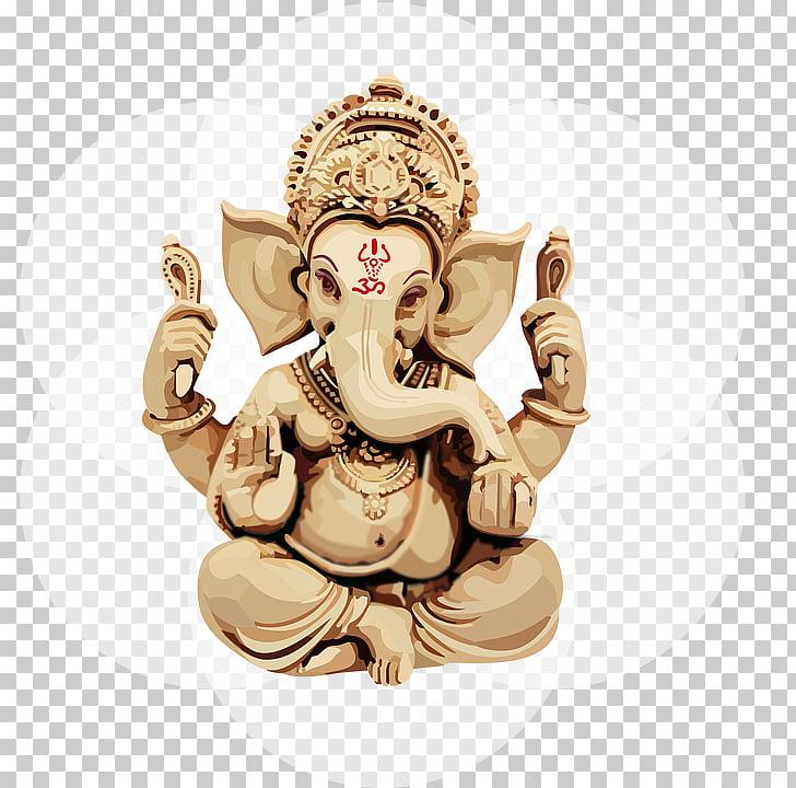 Ganesha Aarti Ganesh Chaturthi Bhajan, ganesha PNG clipart.