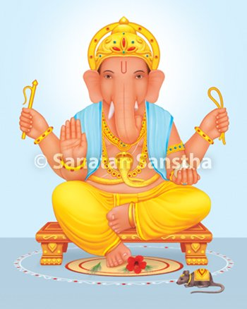 What is the ideal way of making Shri Ganesh Murti (Idol of.