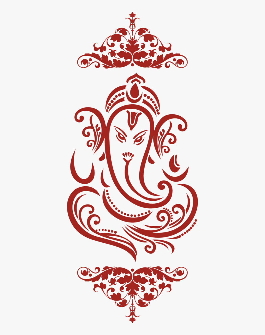 Ganesh Logo For Wedding Cards Png.