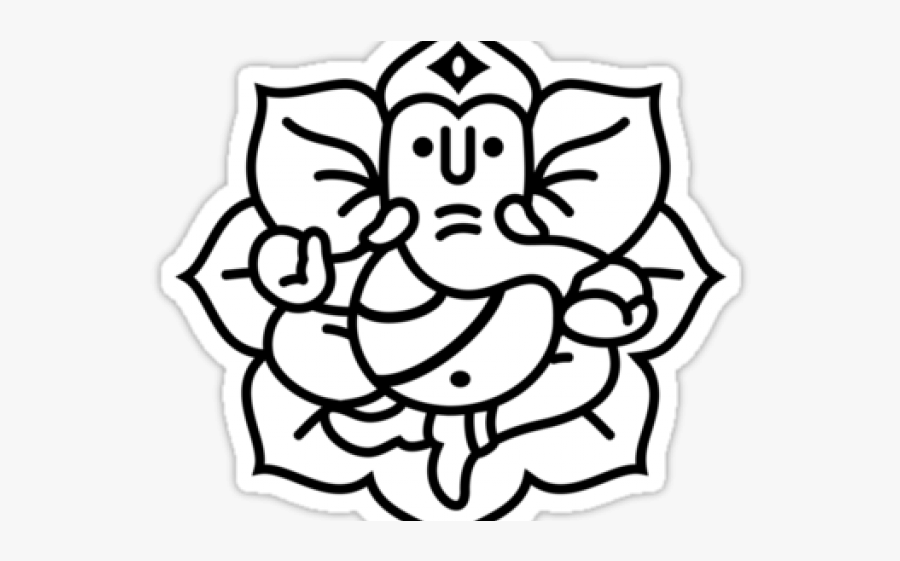 Ganesh Outline.