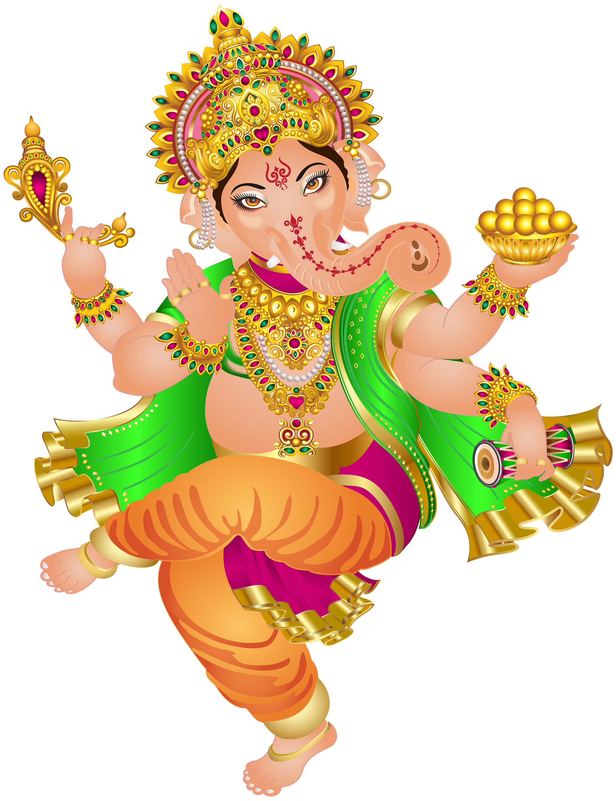 Ganesh PNG Transparent Images, Pictures, Photos.