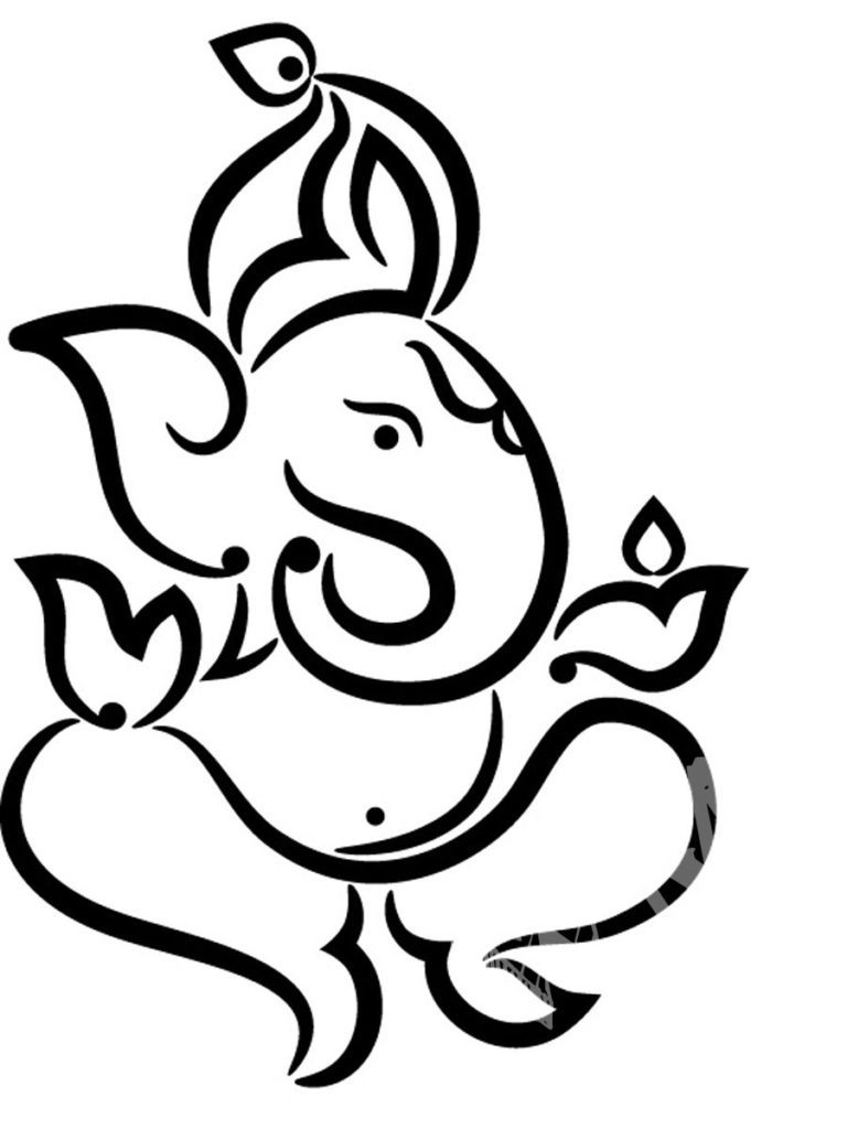Ganesh ji clipart 9 » Clipart Station.