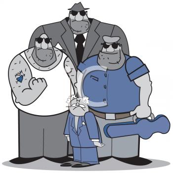 Gang clipart.