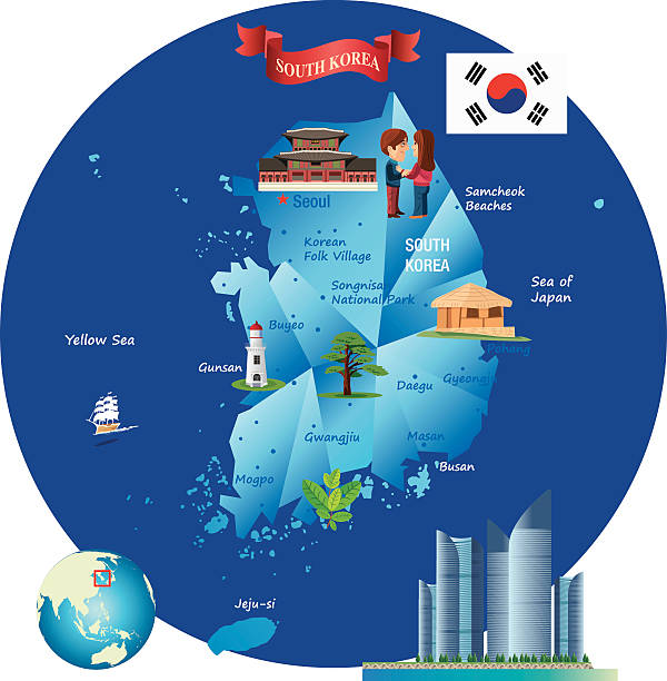 Gangneung Clip Art, Vector Images & Illustrations.