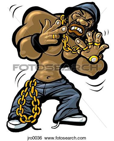 Gold Chain Gangster Clipart image tips.