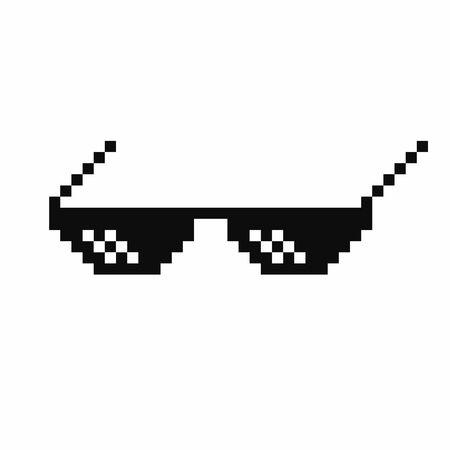Thug Life Glasses Clipart.