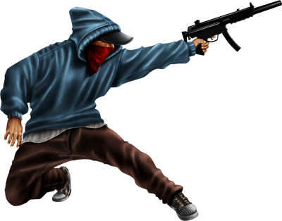 Download Gangsta PNG File For Designing Projects.