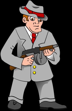 Clipart gangster.