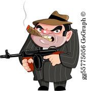 Gangster Clip Art.