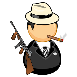 Gangster clipart, cliparts of Gangster free download (wmf, eps, emf.