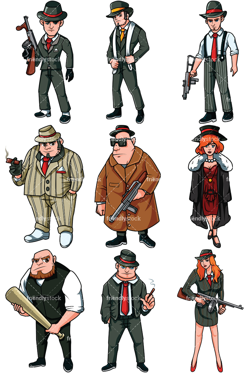 Mafia Mobsters Collection.