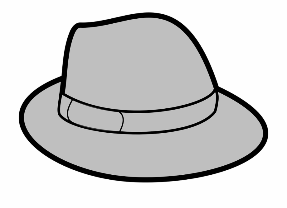 Hat Grey Gray Trilby Headwear Crooner Gangster.