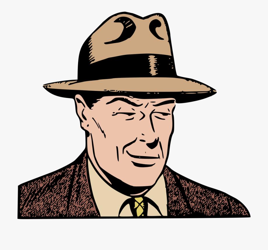 Mafia Drawing Gangster Hat Fedora Cc0.