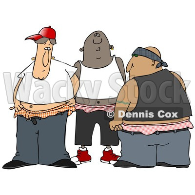 of a Group of Gangsters With Saggy Pants.