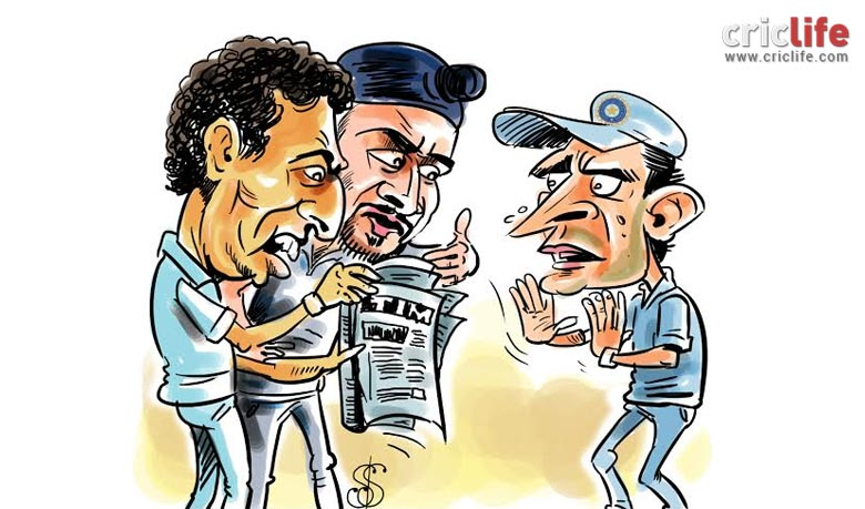 Yuvraj and Harbhajan 'revolted' against captain Ganguly in an.