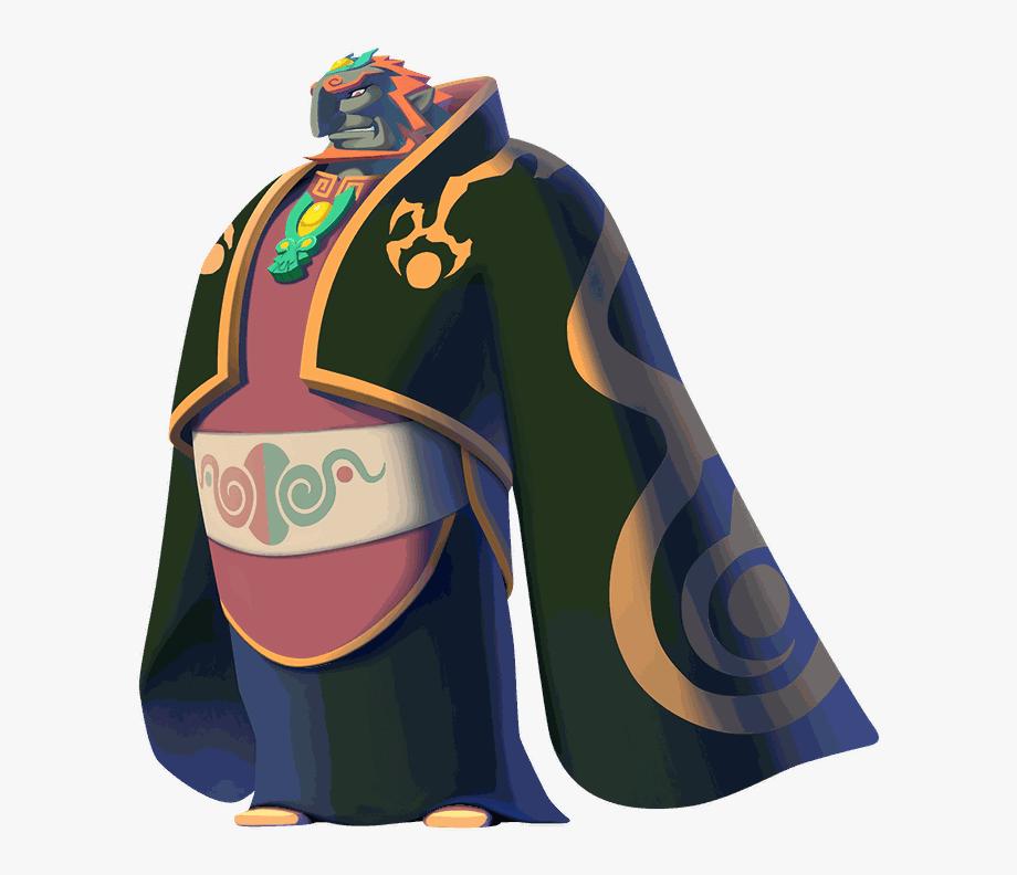 Legend Of Zelda Wind Waker Hd Ganondorf Clipart , Png.