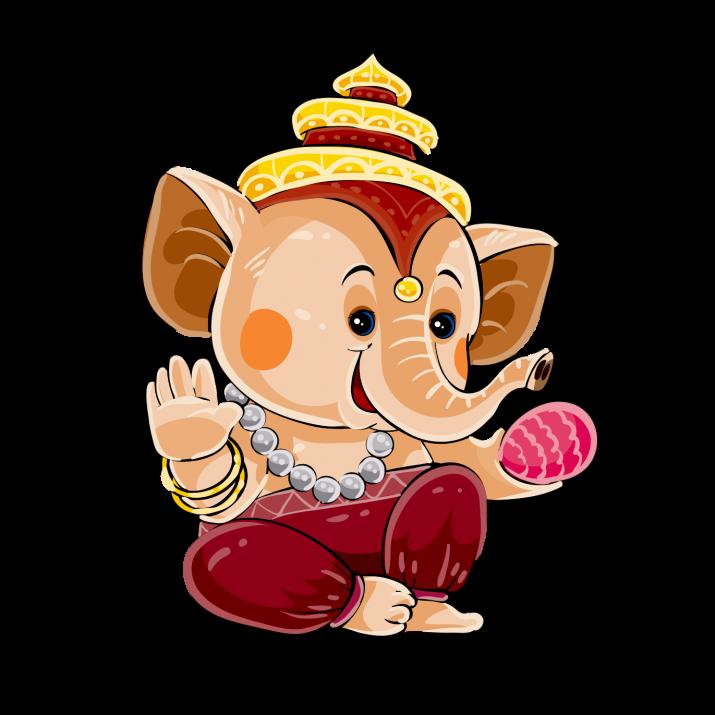 Ganesha Clipart PNG.