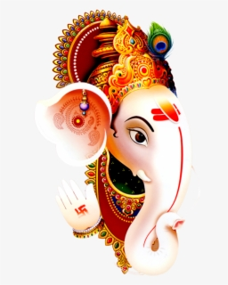 Free Ganpati Png Clip Art with No Background.