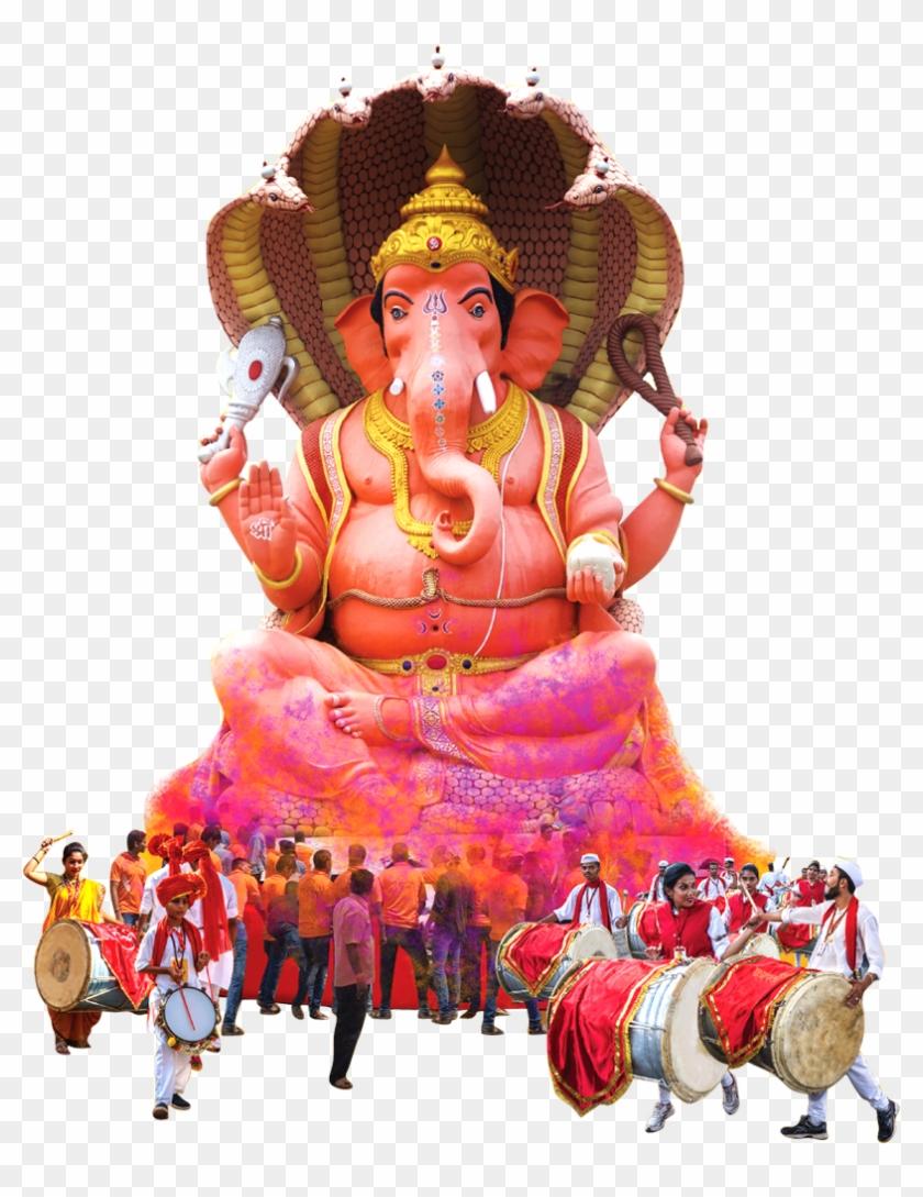 Ganpati Murti Hd Pics Png, Transparent Png.