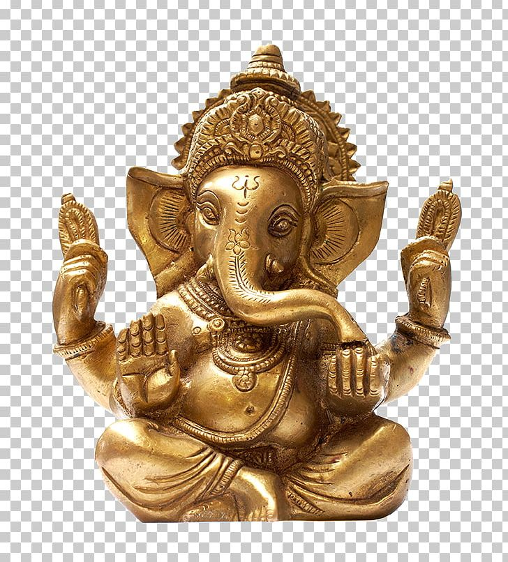 Ganesha Hinduism Ganesh Chaturthi God Illustration PNG.