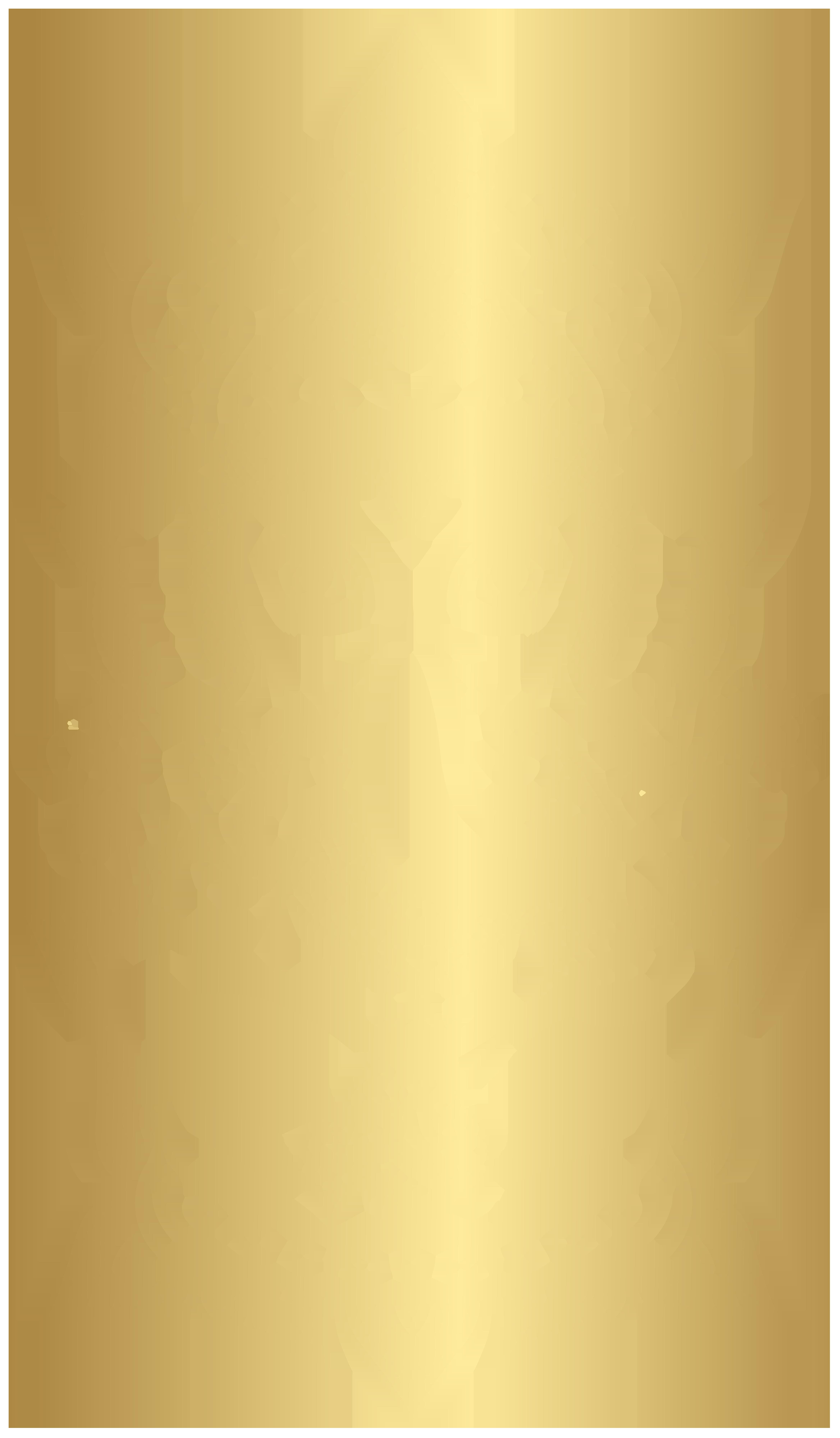 Gold Ganesha PNG Clip Art Image.