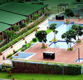 Club Mahindra Resort in Ganpatipule.