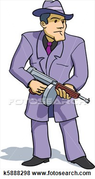 Gangster Hat Clipart.