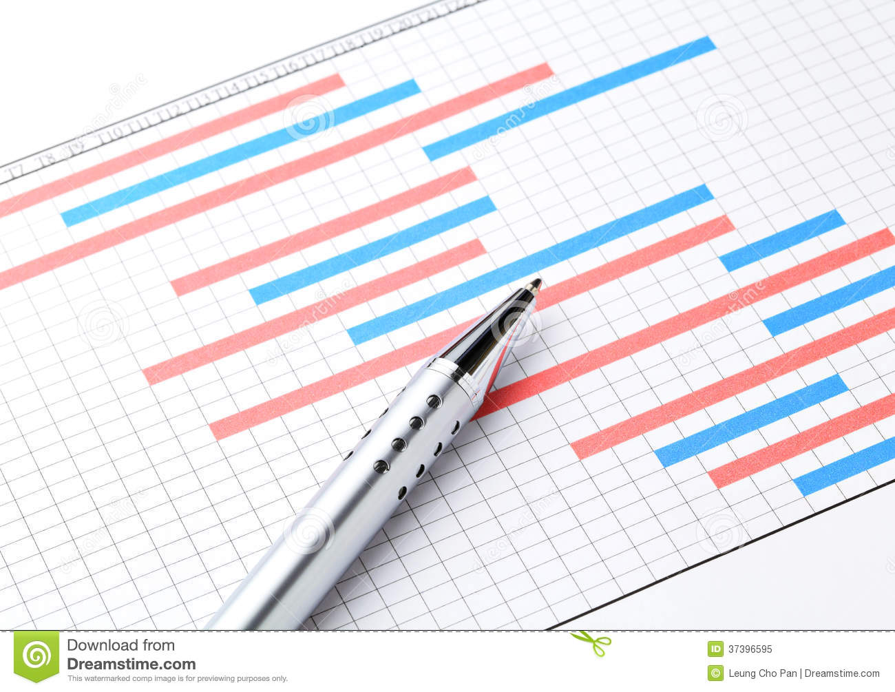 Project Plan Gantt Charts Royalty Free Stock Photo.
