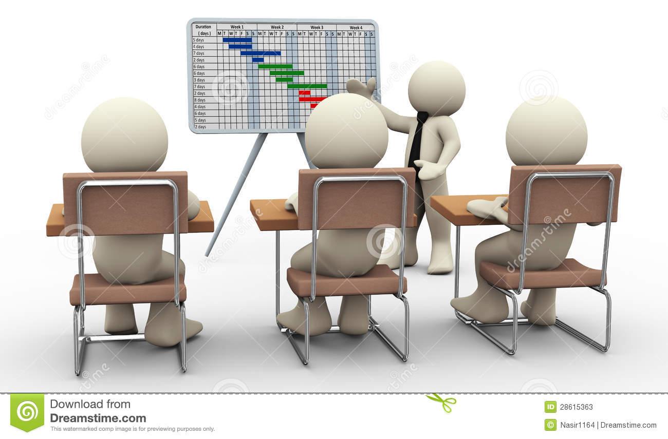 Gantt Stock Illustrations.
