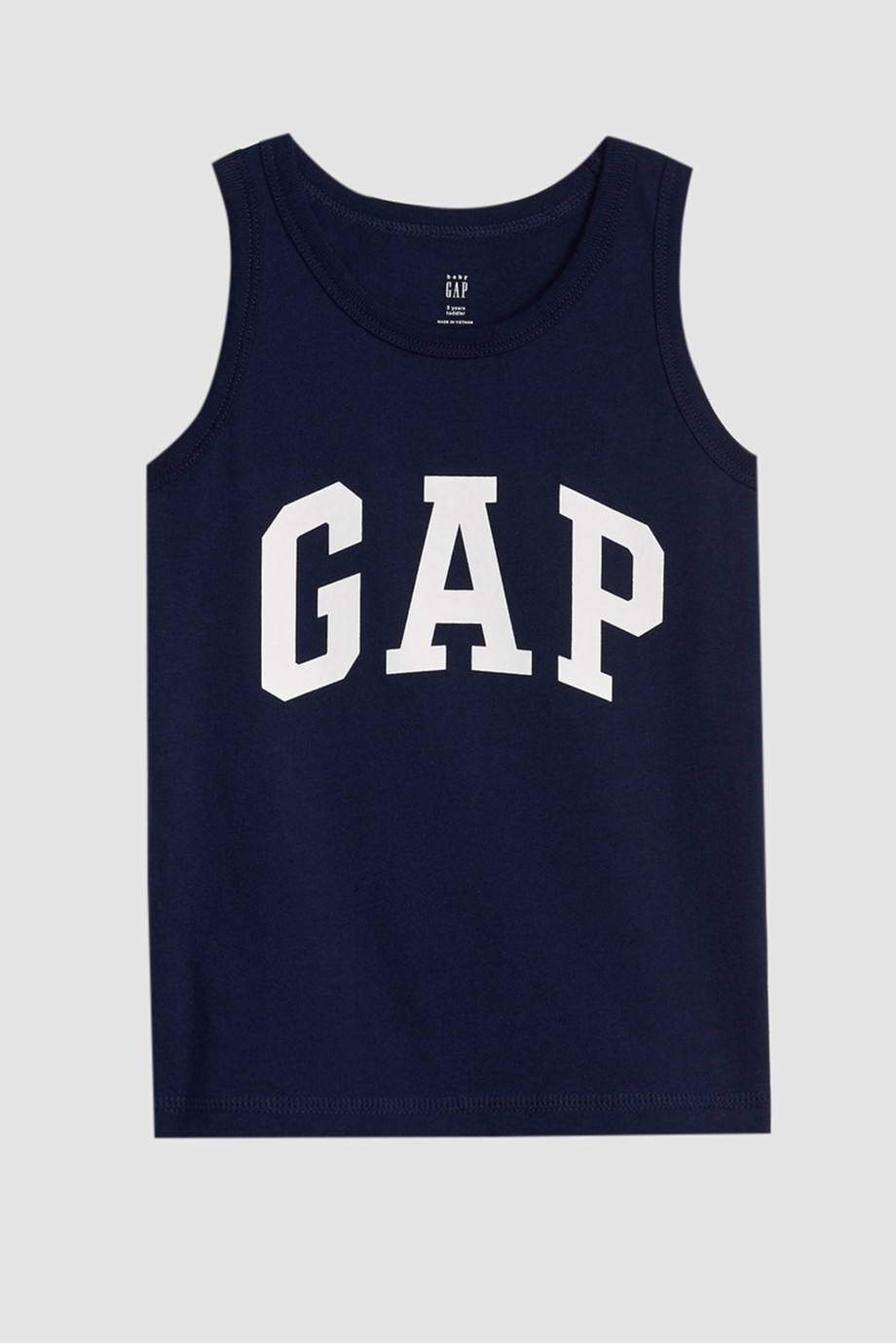 Shop Blue Gap Toddler Gap Logo Tank Top for Kids.