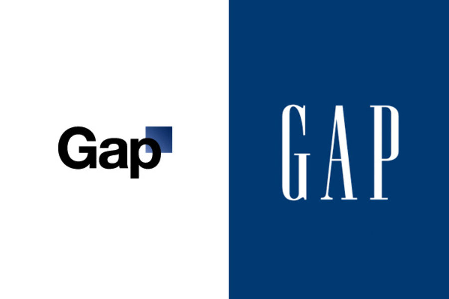 Gap logo changes: renaissance or mistake?.