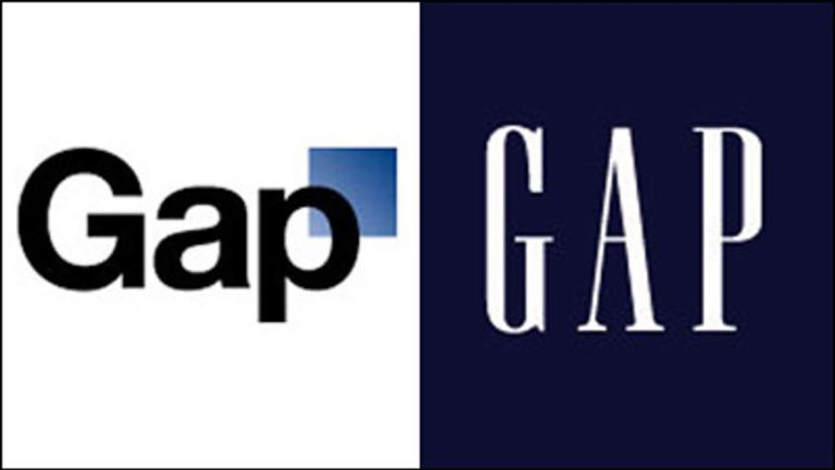 Gap Steps Back After Logo Change Disaster.