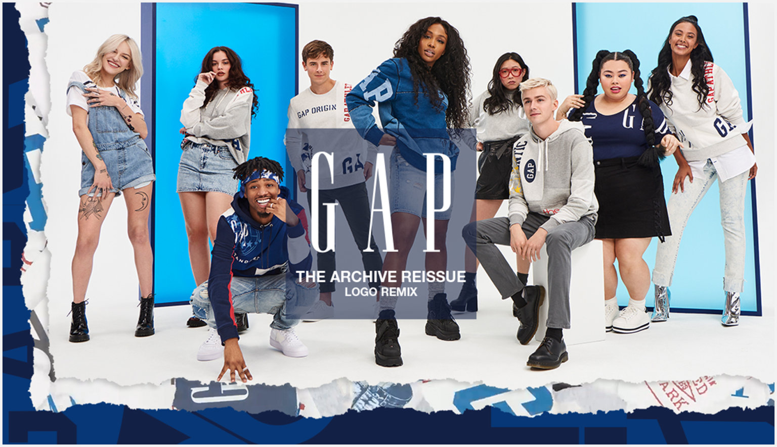 GAP — Logo Remix.