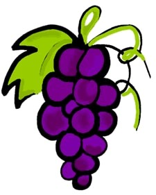Free Grapes Clipart Pictures.