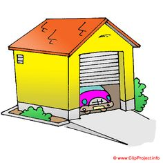 Garage Clipart Illustrations.