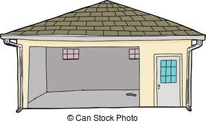Garage Clipart Illustrations.