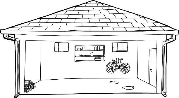 791 Garage free clipart.